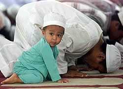 Anak Shalat Berjama'ah