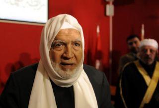 Syaikh Usamah Ar-Rifa'i, ketua Majelis Islam Suriah. (Anadolu)