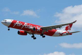 Ilustrasi - Pesawat Air Asia. (wikipedia)