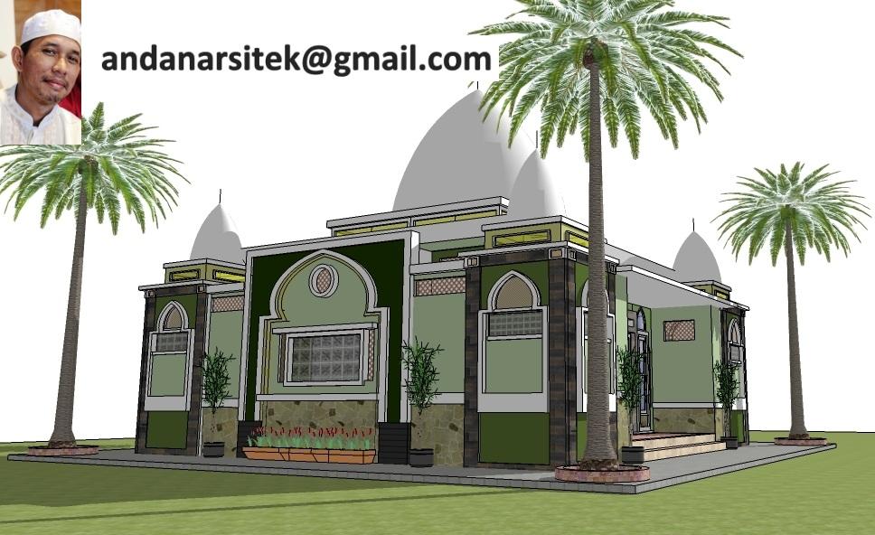 Bagaimana Membuat Desain Masjid Berukuran 10 X 10 M