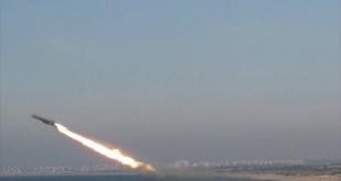 Roket Hamas yang diujicobakan dari pantai Utara Gaza. (paltoday.ps)